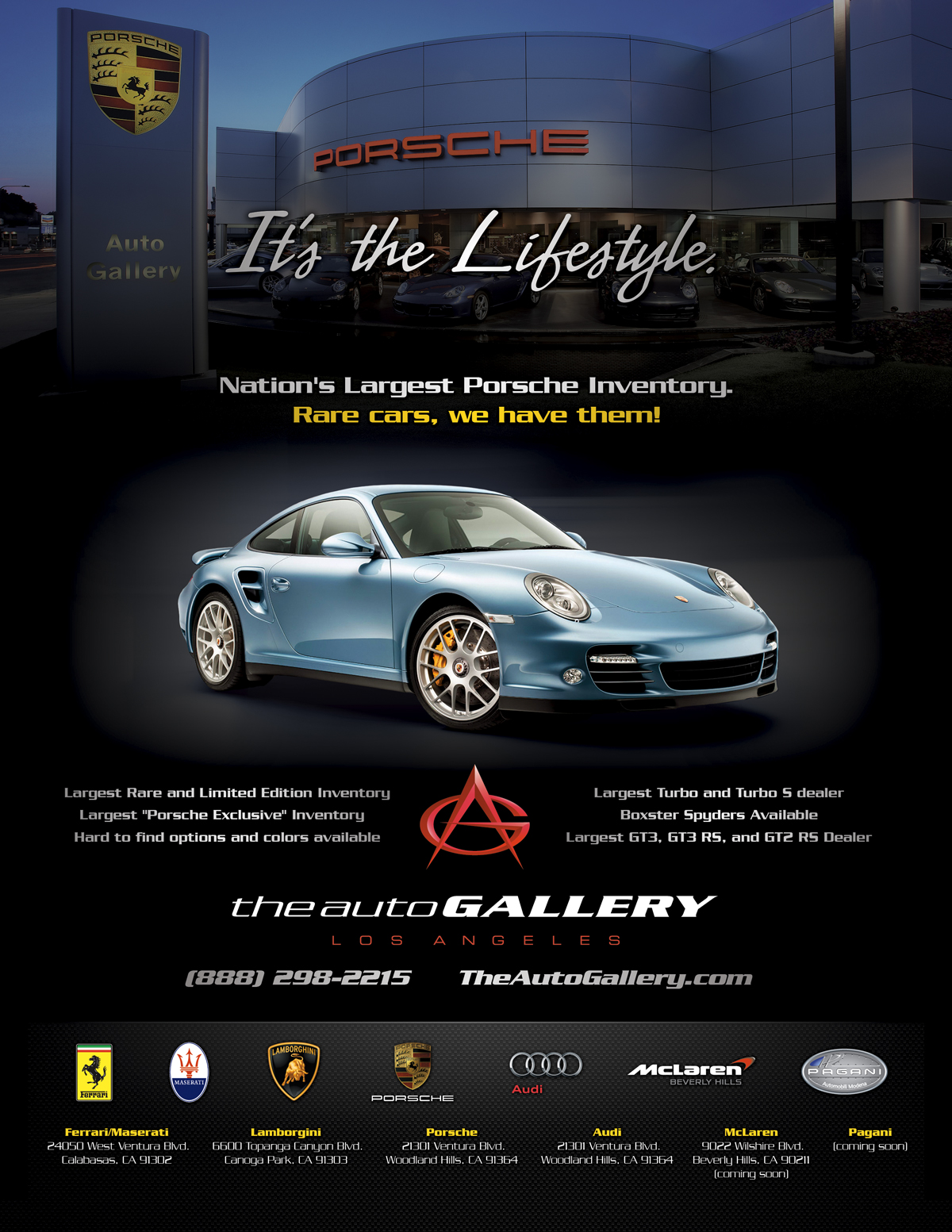 We Created Work For Porsche Audi Fiat Lamborghini Maserati Pagani And Mclaren
